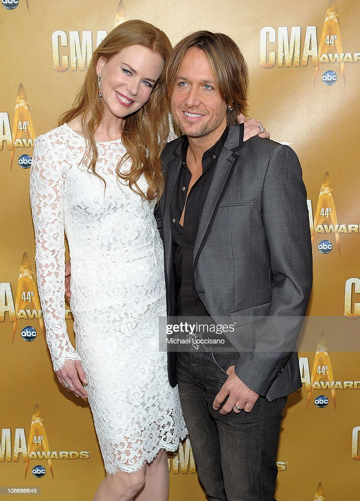 <a gi-track='captionPersonalityLinkClicked' href=/galleries/search?phrase=Nicole+Kidman&family=editorial&specificpeople=156404 ng-click='$event.stopPropagation()'>Nicole Kidman</a> and <a gi-track='captionPersonalityLinkClicked' href=/galleries/search?phrase=Keith+Urban&family=editorial&specificpeople=202997 ng-click='$event.stopPropagation()'>Keith Urban</a> attend the 44th Annual CMA Awards at the Bridgestone Arena on November 10, 2010 in Nashville, Tennessee.