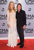 Nicole Kidman and Keith Urban attend the 48th annual CMA Awards at the Bridgestone Arena on November 5 2014 in Nashville Tennessee