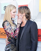 Nicole Kidman and Keith Urban attend the 51st Academy of Country Music Awards at MGM Grand Garden Arena on April 3 2016 in Las Vegas Nevada