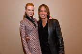 Nicole Kidman and Keith Urban attend the CRS 2016 at Omni Hotel on February 8 2016 in Nashville Tennessee