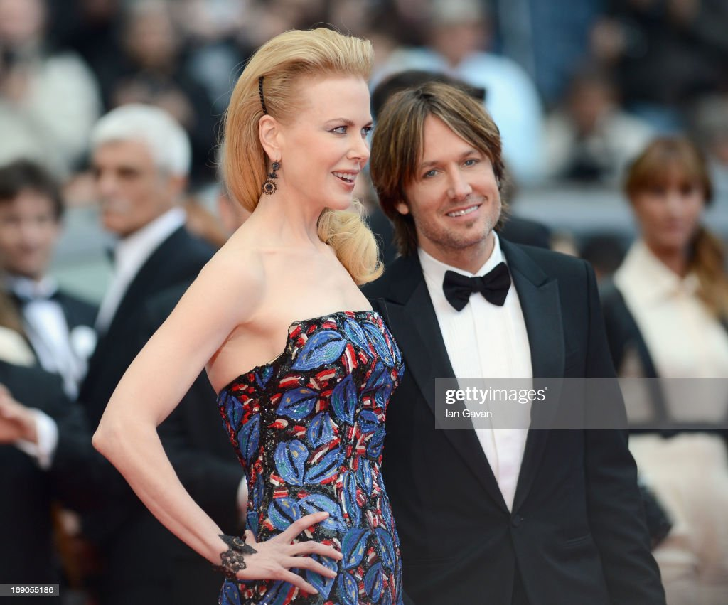 Nicole Kidman and Keith Urban attend the 'Inside Llewyn Davis' Premiere during the 66th Annual Cannes Film Festival at Grand Theatre Lumiere on May 19, 2013 in Cannes, France.
