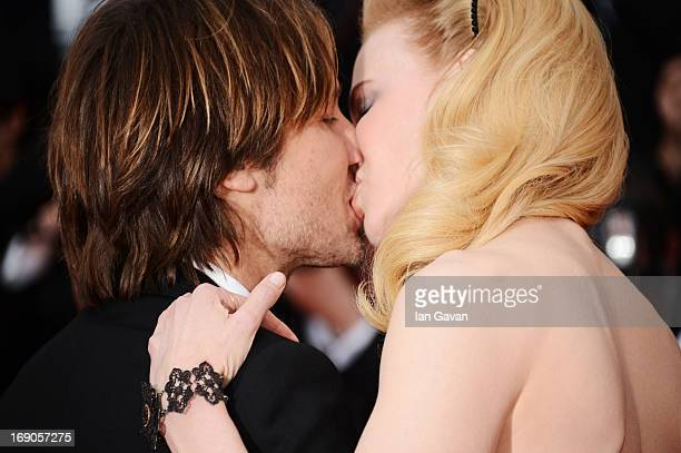 Nicole Kidman and Keith Urban attend the 'Inside Llewyn Davis' Premiere during the 66th Annual Cannes Film Festival at Grand Theatre Lumiere on May...