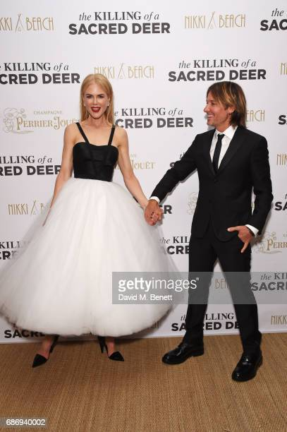 Nicole Kidman and Keith Urban attend the official after party for 'The Killing of a Sacred Deer' at the Nikki Beach popup during the 70th annual...