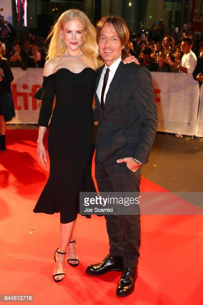 Nicole Kidman and Keith Urban attend 'The Upside' premiere during the 2017 Toronto International Film Festival at Roy Thomson Hall on September 8...