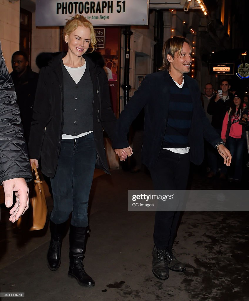 London celebrity sightings october 24 2015 getty images for Keith urban and nicole kidman latest news