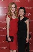 Nicole Kidman and Li Bingbing attend the Cinema Society with Ivanka Trump Jewelry Diane Von Furstenberg screening of 'Snow Flower And The Secret...