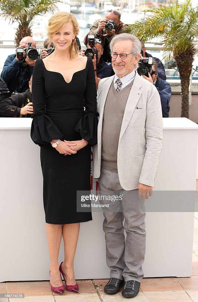 Nicole Kidman and Steven Spielberg attend the Jury Photocall at The 66th Annual Cannes Film Festival on May 15, 2013 in Cannes, France.