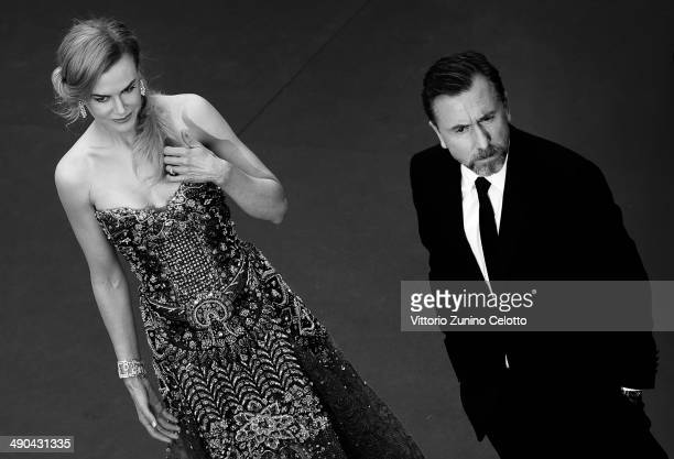 Nicole Kidman and Tim Roth attend the Opening Ceremony and the 'Grace of Monaco' premiere during the 67th Annual Cannes Film Festival on May 14 2014...