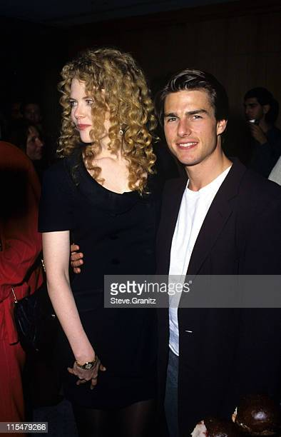 Nicole Kidman and Tom Cruise during ''Far Away'' Beverly Hills Premiere at The Academy in Beverly Hills California United States