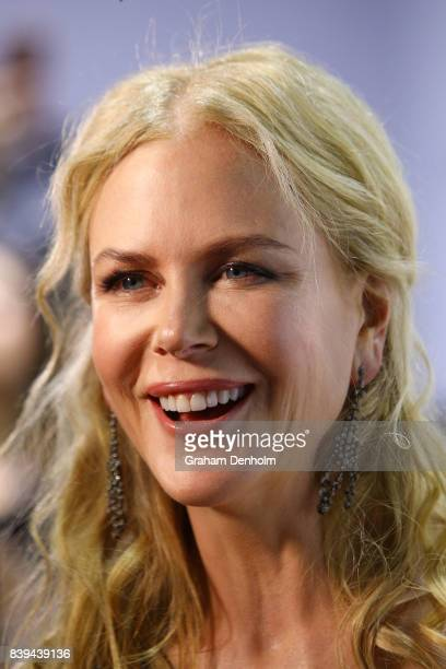 Nicole Kidman arrives ahead of the NGV Gala at NGV International on August 26 2017 in Melbourne Australia