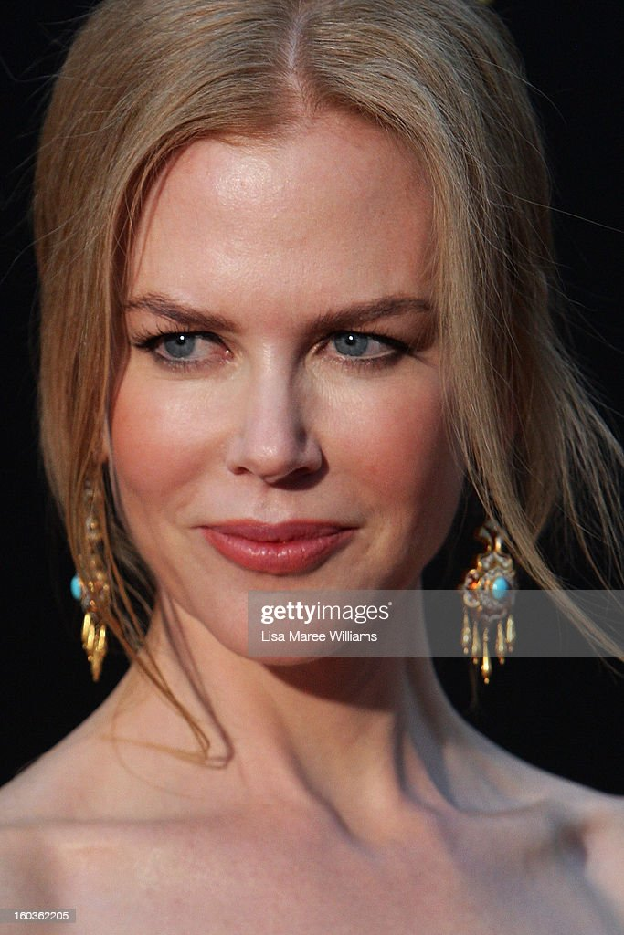 <a gi-track='captionPersonalityLinkClicked' href=/galleries/search?phrase=Nicole+Kidman&family=editorial&specificpeople=156404 ng-click='$event.stopPropagation()'>Nicole Kidman</a> arrives at the 2nd Annual AACTA Awards at The Star on January 30, 2013 in Sydney, Australia.