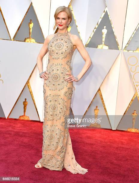 Nicole Kidman arrives at the 89th Annual Academy Awards at Hollywood Highland Center on February 26 2017 in Hollywood California