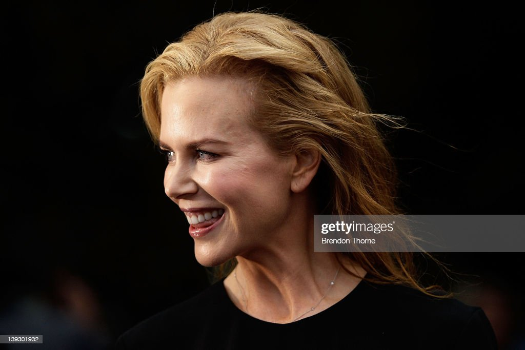 Nicole Kidman arrives at the Tropfest 2012 short film festival at The Royal Botanic Gardens on February 19, 2012 in Sydney, Australia.