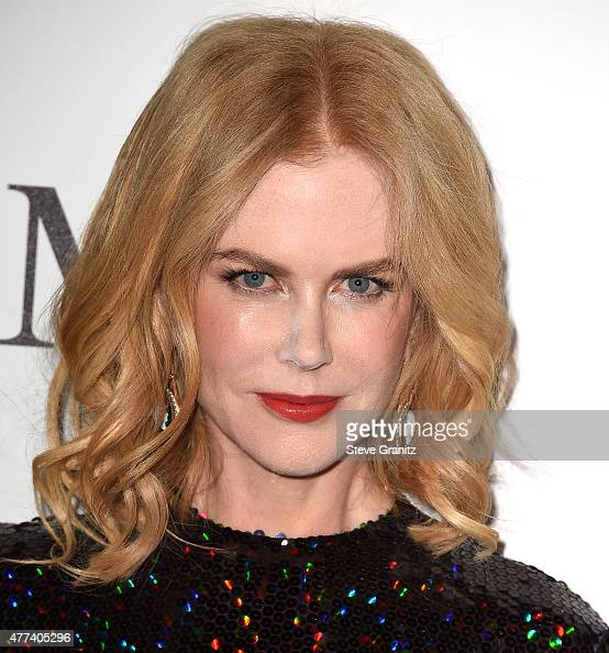 Nicole Kidman arrives at the Women In Film 2015 Crystal Lucy Awards at the Hyatt Regency Century Plaza on June 16 2015 in Los Angeles California