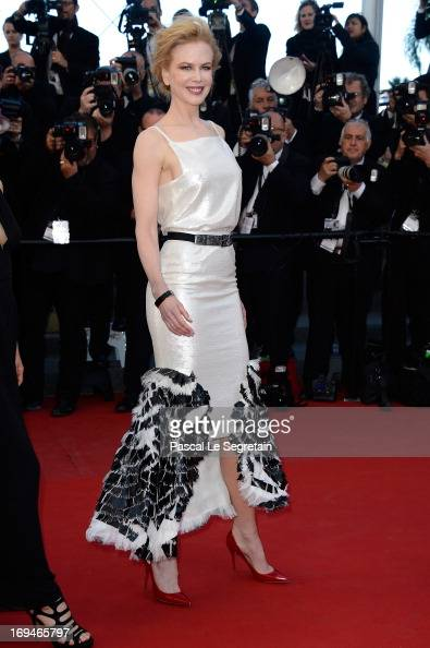 Nicole Kidman arrives at 'Venus In Fur' Premiere during the 66th Annual Cannes Film Festival at Grand Theatre Lumiere on May 25 2013 in Cannes France