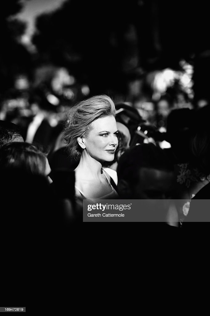 Nicole Kidman arrives at 'Venus In Fur' Premiere during the 66th Annual Cannes Film Festival at Grand Theatre Lumiere on May 25, 2013 in Cannes, France.