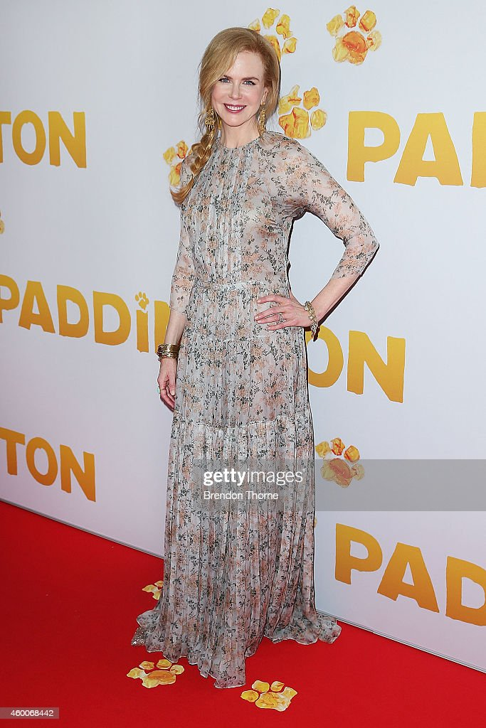 <a gi-track='captionPersonalityLinkClicked' href=/galleries/search?phrase=Nicole+Kidman&family=editorial&specificpeople=156404 ng-click='$event.stopPropagation()'>Nicole Kidman</a> arrives for the Australian Premiere of 'Paddington' at Event Cinemas George Street on December 7, 2014 in Sydney, Australia.