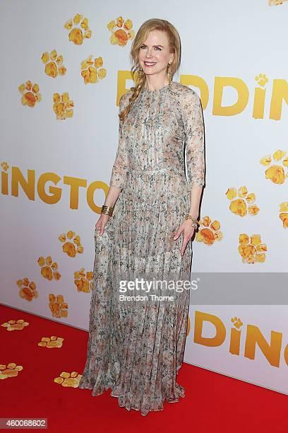 Nicole Kidman arrives for the Australian Premiere of 'Paddington' at Event Cinemas George Street on December 7 2014 in Sydney Australia