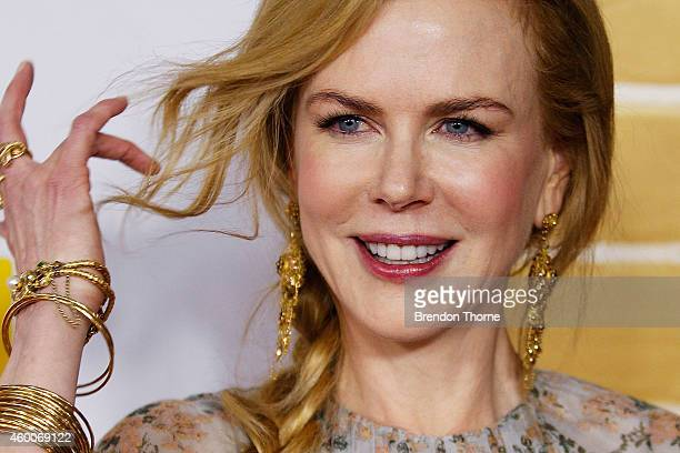 Nicole Kidman arrives for the Australian Premiere of 'Paddington' at Event Cinemas George Street on December 7 2014 in Sydney Australia