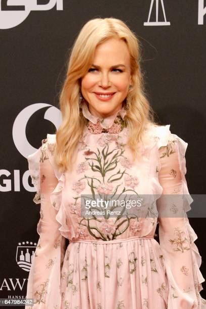 Nicole Kidman arrives for the Goldene Kamera on March 4 2017 in Hamburg Germany