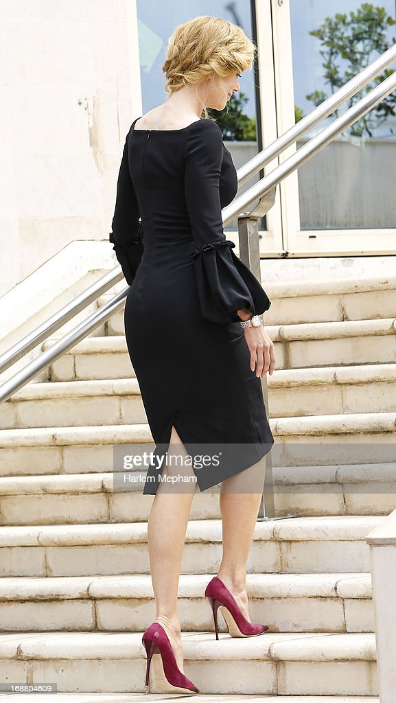 Nicole Kidman arrives for 'The Jury' photocall at the 66th Annual Cannes Film Festival on May 15, 2013 in Cannes, France.