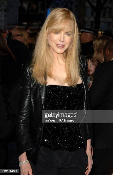 Nicole Kidman arrives for the UK Premiere of Happy Feet at the Empire Leicester Square in central London