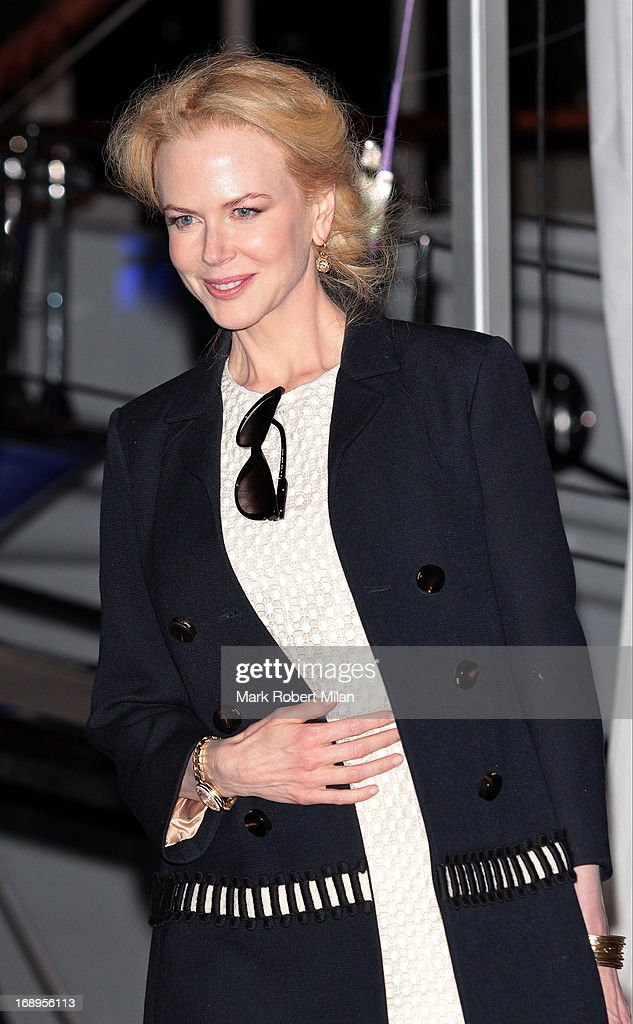 <a gi-track='captionPersonalityLinkClicked' href=/galleries/search?phrase=Nicole+Kidman&family=editorial&specificpeople=156404 ng-click='$event.stopPropagation()'>Nicole Kidman</a> attending the Johnnie Walker yacht party at The 66th Annual Cannes Film Festival on May 17, 2013 in Cannes, France.