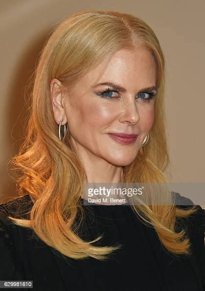 Nicole Kidman attends a VIP screening of 'Lion' at The May Fair Hotel on December 15 2016 in London England