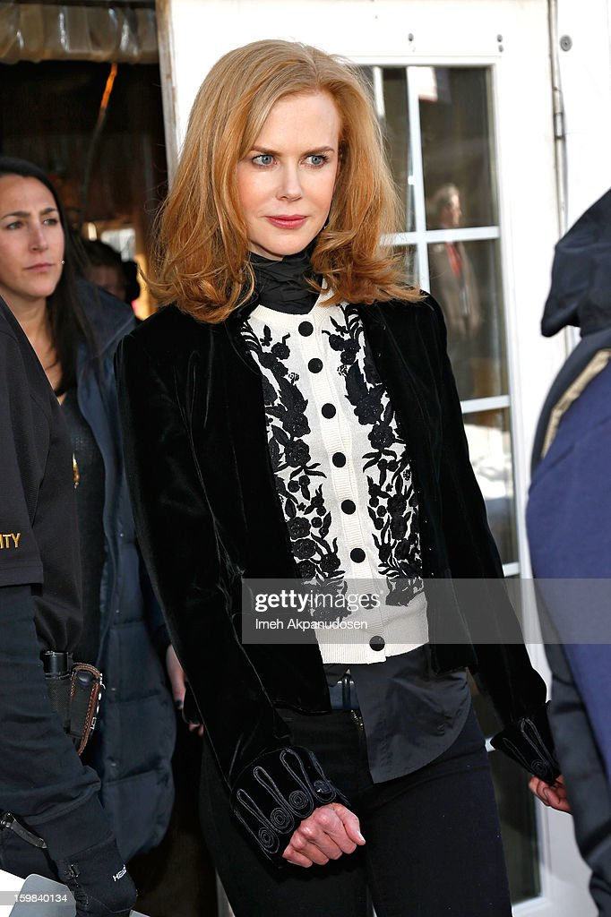 Nicole Kidman attends Day 4 of Village At The Lift 2013 on January 21, 2013 in Park City, Utah.