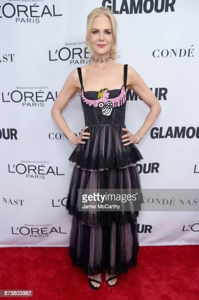 Nicole Kidman attends Glamour's 2017 Women of The Year Awards at Kings Theatre on November 13 2017 in Brooklyn New York
