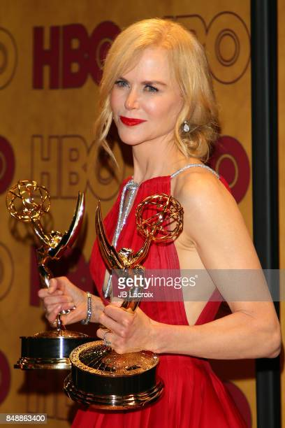 Nicole Kidman attends HBO's Post Emmy Awards Reception at The Plaza at the Pacific Design Center on September 17 2017 in Los Angeles California