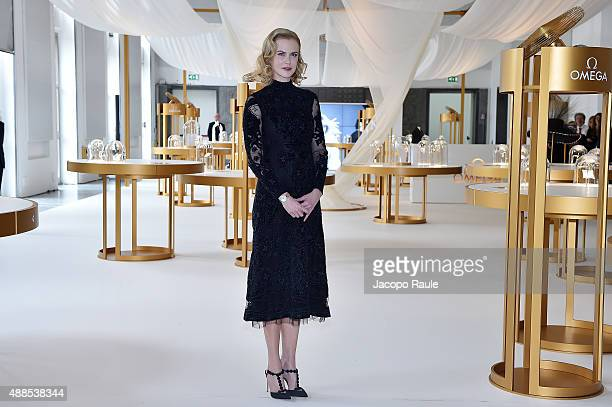 Nicole Kidman attends OMEGA 'Her Time' Exhibition Opening at Triennale di Milano on September 16 2015 in Milan Italy