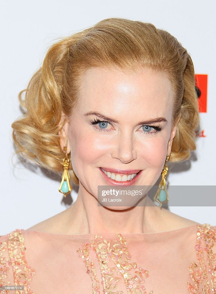 Nicole Kidman attends the 2013 G'Day USA Black Tie Gala at JW Marriott Los Angeles at L.A. LIVE on January 12, 2013 in Los Angeles, California.