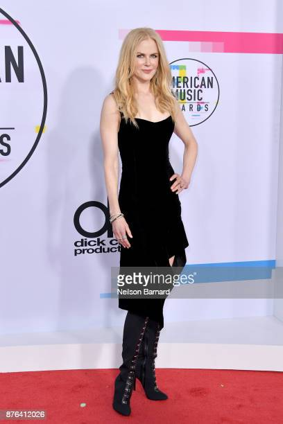 Nicole Kidman attends the 2017 American Music Awards at Microsoft Theater on November 19 2017 in Los Angeles California