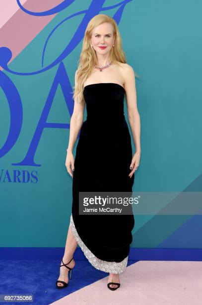 Nicole Kidman attends the 2017 CFDA Fashion Awards at Hammerstein Ballroom on June 5 2017 in New York City
