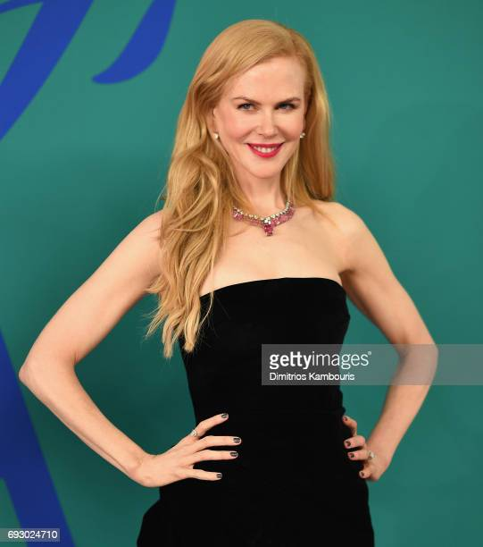 Nicole Kidman attends the 2017 CFDA Fashion Awards at Hammerstein Ballroom on June 5 2017 in New York City