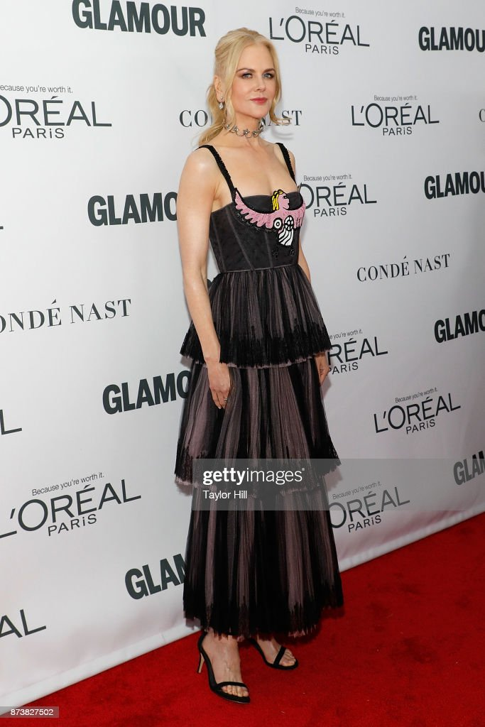 Nicole Kidman attends the 2017 Glamour Women of the Year Awards at Kings Theatre on November 13, 2017 in New York City.
