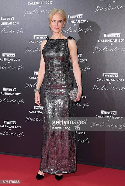Nicole Kidman attends the 2017 Pirelli Calendar Gala Dinner at La Cite Du Cinema on November 29 2016 in SaintDenis France