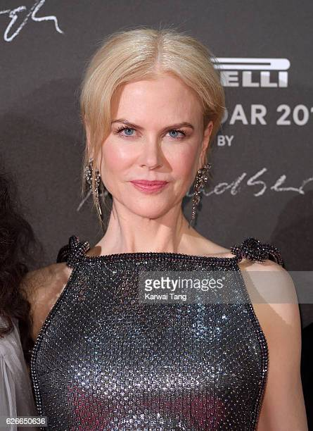 Nicole Kidman attends the 2017 Pirelli Calendar Gala Dinner at La Cite Du Cinema on November 29 2016 in SaintDenis France