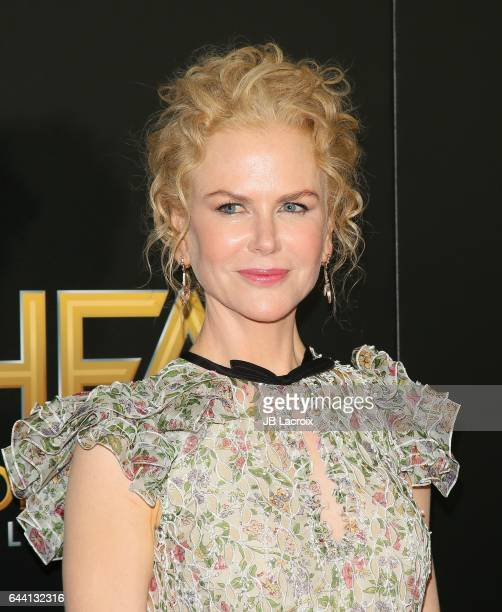 Nicole Kidman attends the 20th Annual Hollywood Film Awards on November 6 2016 in Los Angeles California