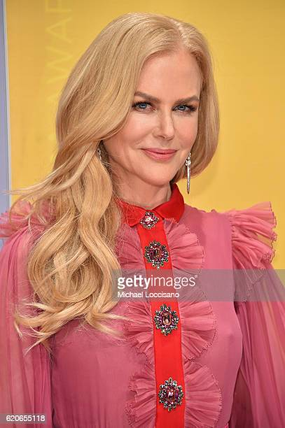 Nicole Kidman attends the 50th annual CMA Awards at the Bridgestone Arena on November 2 2016 in Nashville Tennessee