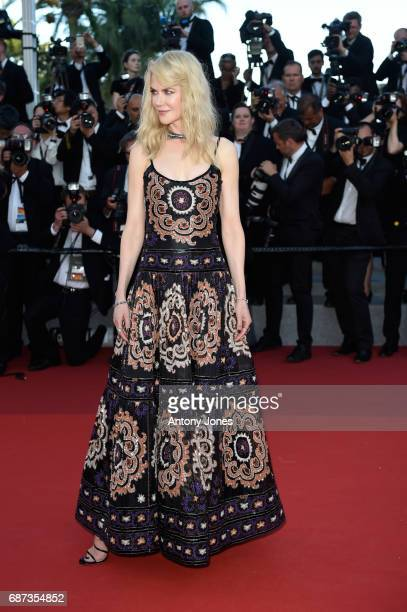 Nicole Kidman attends the 70th Anniversary of the 70th annual Cannes Film Festival at Palais des Festivals on May 23 2017 in Cannes France