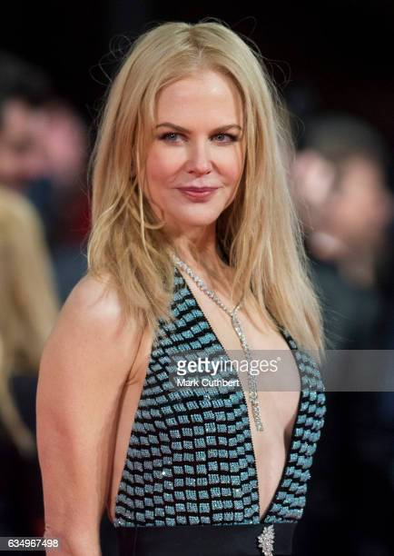 Nicole Kidman attends the 70th EE British Academy Film Awards at Royal Albert Hall on February 12 2017 in London England