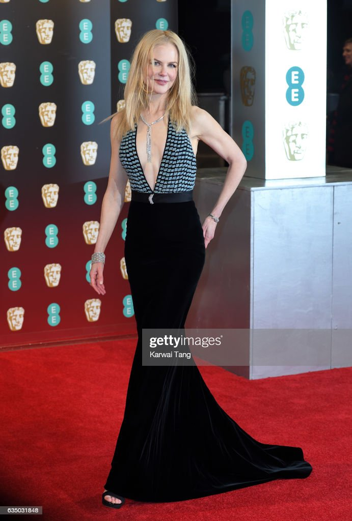 Nicole Kidman attends the 70th EE British Academy Film Awards (BAFTA) at the Royal Albert Hall on February 12, 2017 in London, England.