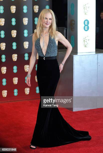 Nicole Kidman attends the 70th EE British Academy Film Awards at the Royal Albert Hall on February 12 2017 in London England