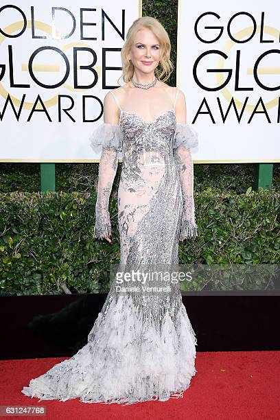 Nicole Kidman attends the 74th Annual Golden Globe Awards at The Beverly Hilton Hotel on January 8 2017 in Beverly Hills California
