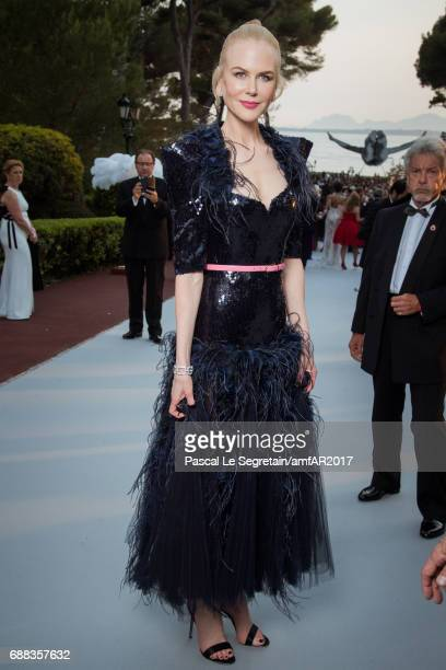 Nicole Kidman attends the amfAR Gala Cannes 2017 at Hotel du CapEdenRoc on May 25 2017 in Cap d'Antibes France