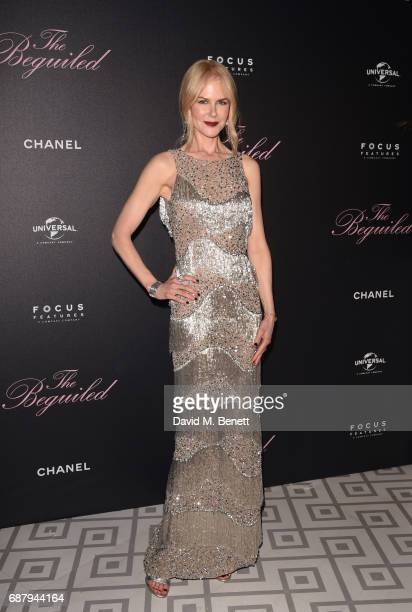 Nicole Kidman attends The Beguiled private party hosted by Focus Features and Universal Pictures International in collaboration with Chanel at La...