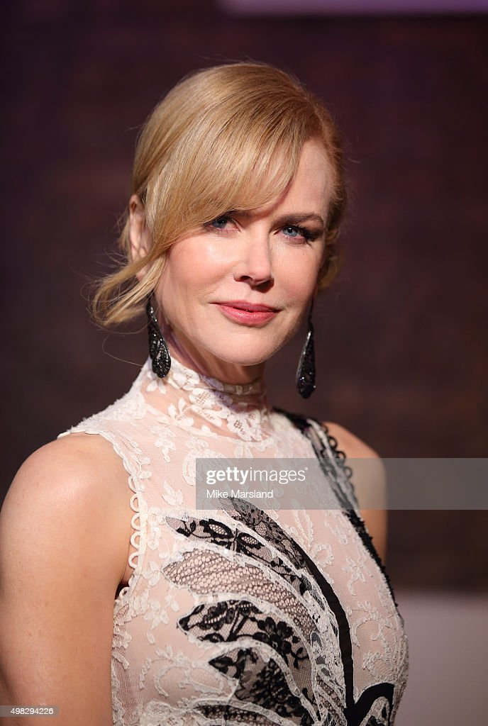 Nicole Kidman attends the Evening Standard Theatre Awards at The Old Vic Theatre on November 22, 2015 in London, England.