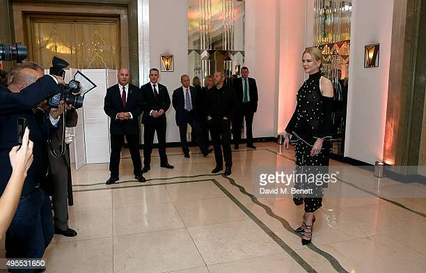 Nicole Kidman attends the Harper's Bazaar Women of the Year Awards 2015 at Claridges Hotel on November 3 2015 in London England